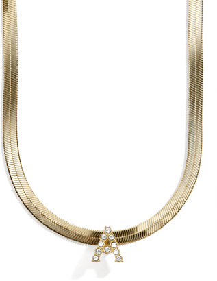 BaubleBar Gia Initial Necklace