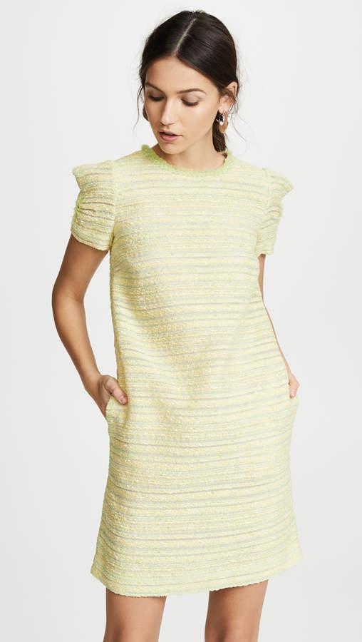 Moschino Tweed Short Sleeve Dress