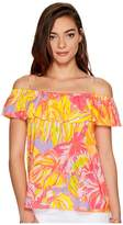 Lilly Pulitzer Tamiami Top Women's Clothing