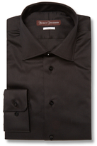 Hickey Freeman Classic Fit Cotton-Blend Dress Shirt