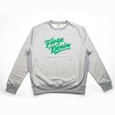 Arnold & Co - Grey With Green Logo Forge Denim Sweatshirt - S - Grey/Green