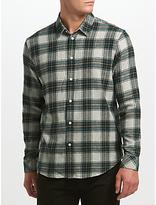 Samsoe & Samsoe Liam Nx Check Shirt, Green Gables