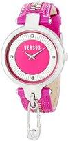 Versus By Versace Women's SOB030014 KEY BISCAYNE Analog Display Quartz Pink Watch
