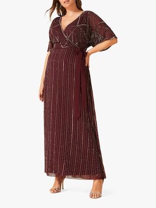 Studio 8 Electra Maxi Dress, Merlot