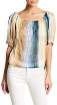 Anama Multi-Colored Sheer Blouse