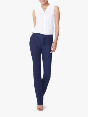 NYDJ Marilyn Straight Leg High Waist Jeans, Rinse