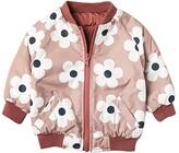 Huxbaby HUXBABY Flower Reversible Bomber (Infant/Toddler) (Plum/Berry) Girl's Clothing