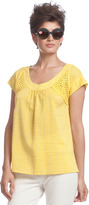 Tracy Reese Inset Blouse