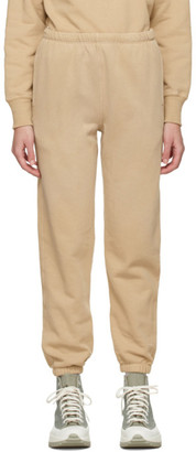 RE/DONE Beige Hanes Edition 80s Lounge Pants
