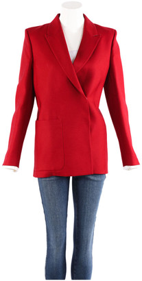 Acne Studios Red Wool Jackets