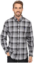 U.S. Polo Assn. Long Sleeve Medium Plaid Sport Shirt