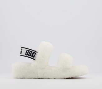 UGG Oh Yeah Slippers White