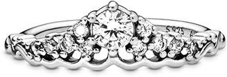 Pandora Signature Fairytale Tiara CZ Ring (Clear) Ring