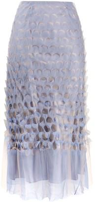 Maison Margiela Polka-Dot Pattern Midi Skirt