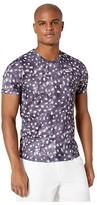 Nike NikeCourt Challenger Top Short Sleeve MB NT (Gridiron/Gridiron/White) Men's Clothing