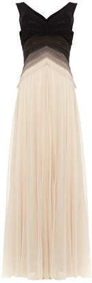Phase Eight Collection 8 Elfie Ombre Dress, Buttermilk