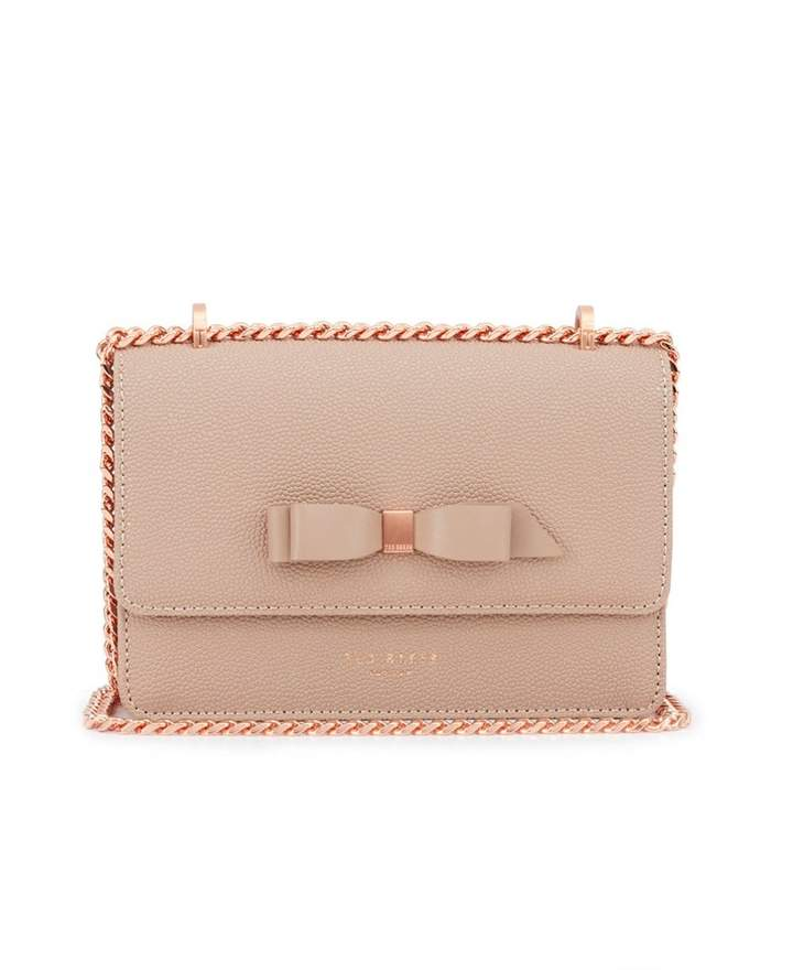 5cc97ba2dfcb Taupe Leather Handbag - ShopStyle UK