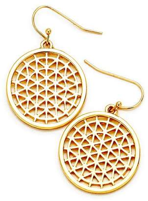 Wild Lilies Jewelry Gold Disc Earrings