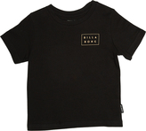 Billabong Tots Boys Open Die Cut Tee Black