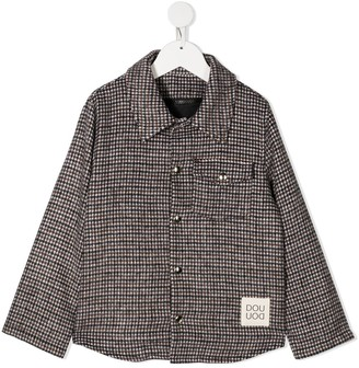 Douuod Kids Check-Pattern Jacket