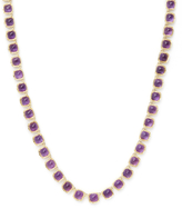Ila Marley 14K Yellow gold & Amethyst Station Necklace