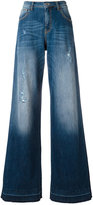 Amen flared jeans - women - Cotton/Spandex/Elastane - 42