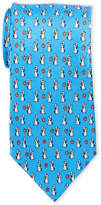 Pierre Cardin Silk Puppy Flower Tie