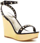 Bebe Sylviaa Platform Wedge Sandal