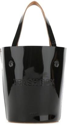 Nana-Nana Logo Embossed Trash Box Bucket Bag