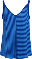 Sandro Time striped stretch-knit top