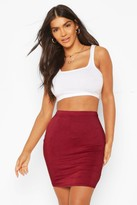 boohoo Bella Basic Jersey Mini Skirt