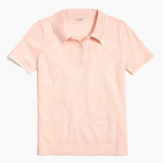 J.Crew Short-sleeve sweater polo