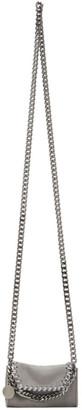 Stella McCartney Grey Micro Falabella Shoulder Bag