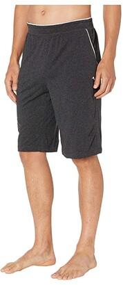 Tommy Bahama Cotton Modal Heather Lounge Jam (Black Heather) Men's Swimwear