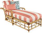 Lane Venture Mimi Stripe Chaise, Coral