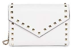 Valentino Women's Garavani Rockstud Leather Wallet-On-Chain
