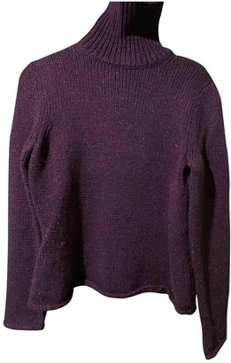 Gerard Darel Purple Wool Knitwear for Women