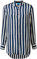 MiH Jeans Finnish Stripe shirt - women - Silk - S