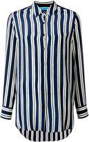 MiH Jeans Finnish Stripe shirt - women - Silk - XS