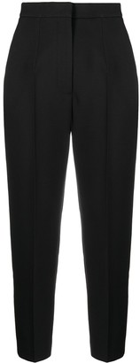 Alexander McQueen Cropped Slim-Fit Trousers