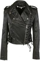 Alexander McQueen Eyelets Biker Jacket