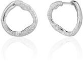 Monica Vinader Riva Diamond Circle Earrings