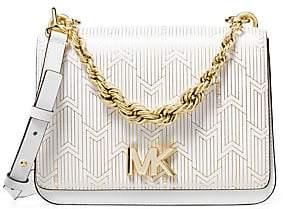 953950547ae2 MICHAEL Michael Kors Women's Large Mott Twisted-Chain Swag Crossbody Bag