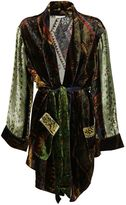 Pierre Louis Mascia Printed Cardi-coat