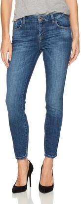 GUESS Women's Crop Mid Jean