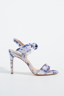 Vicenza Tie-Dye Heels By in Blue Size 36