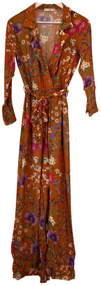 MANGO Orange Jumpsuit for Women