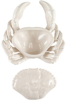 Oscar de la Renta Ivory Shell Crab Condiment Server