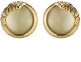 Alexis Bittar Sculptural Sphere Button Clip Earring