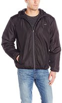 Avia Men's Microfleece-Lined Water Repellant Windbreaker Jacket